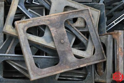 Assorted Letterpress Metal Furniture - 653 lbs - 022420105010