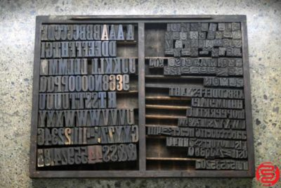 Assorted Letterpress Wood Type - 022120013412