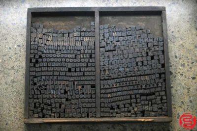 Assorted Letterpress Wood Type - 022120023115