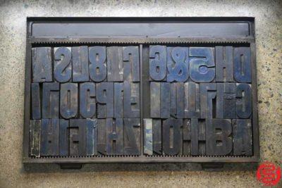 Assorted Letterpress Wood Type - 022120032115