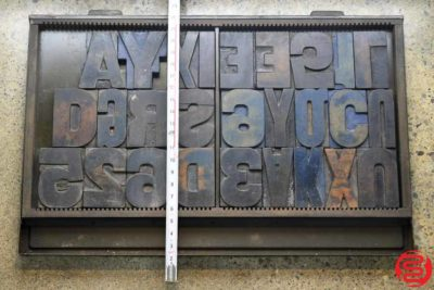 Assorted Letterpress Wood Type - 022120033620