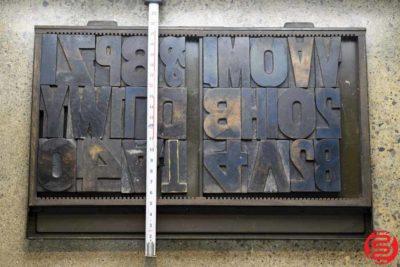 Assorted Letterpress Wood Type - 022120033650