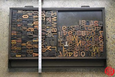 Assorted Letterpress Wood Type - 022120081420