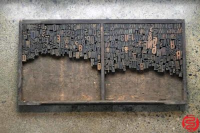 Assorted Letterpress Wood Type - 022120105355