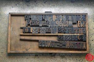 Assorted Letterpress Wood Type - 022120113520