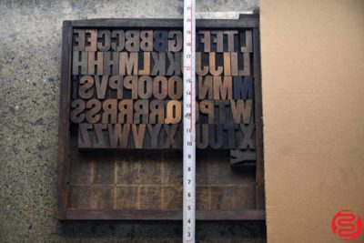 Assorted Letterpress Wood Type - 022120125905