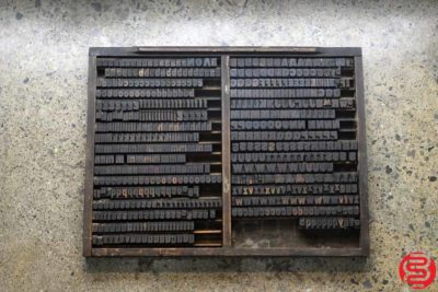 Assorted Letterpress Wood Type - 022220085140