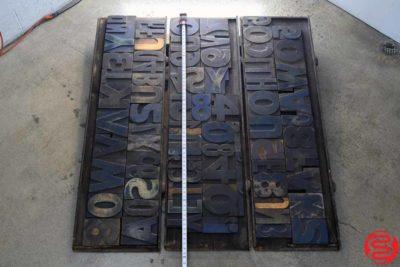 Assorted Letterpress Wood Type - 022220104055