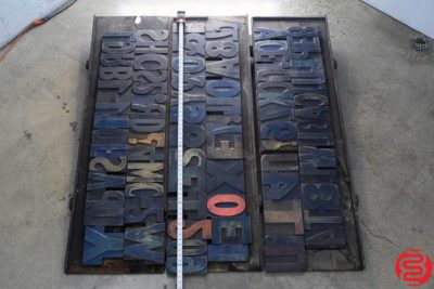 Assorted Letterpress Wood Type - 022220112140