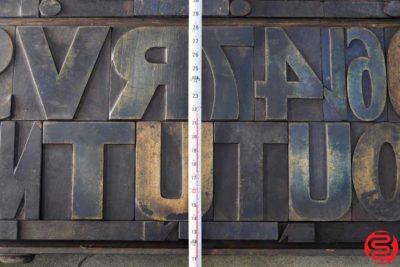 Assorted Letterpress Wood Type - 022220114150