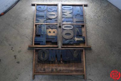 Assorted Letterpress Wood Type - 022220122005