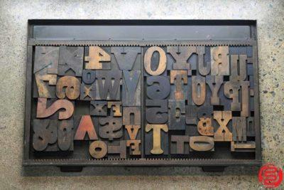 Assorted Letterpress Wood Type - 022420072525