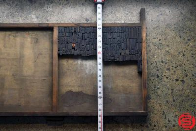 Assorted Letterpress Wood Type - 022720080620