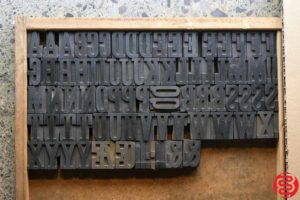Assorted Letterpress Wood Type - 1.5 - 032520085240