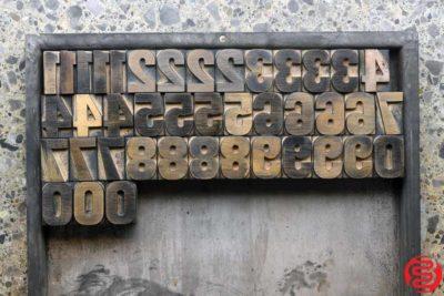 Assorted Letterpress Wood Type - 1.5 - 032520093010
