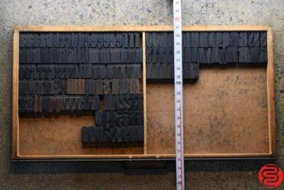 Assorted Letterpress Wood Type - 1.5 - 032520111655