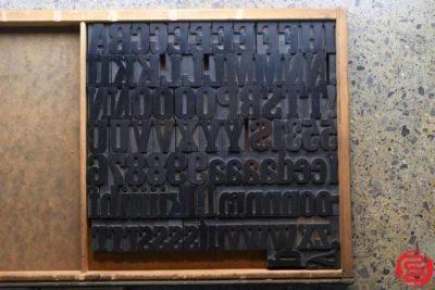 Assorted Letterpress Wood Type - 2 - 032520102530