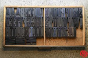 Assorted Letterpress Wood Type - 3.5 - 032520014750