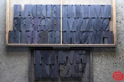 Assorted Letterpress Wood Type - 4 - 032620072150
