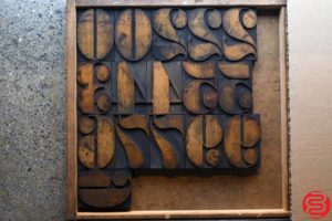 Assorted Letterpress Wood Type - 4 - 032620074330