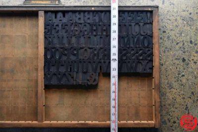 Assorted Letterpress Wood Type - Full Capitals - 1.5 - 032520014850