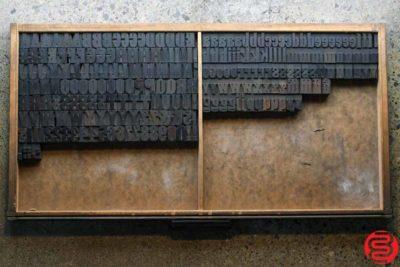 Assorted Letterpress Wood Type - Full Capitals Full Lowercase - 1 - 032520014820