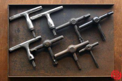 Assorted Quoin Keys - Qty 8 - 022620072525