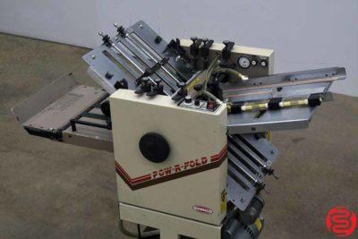 Challenge Pow-R-Fold Vacuum Feed 14 x 20 Paper Folder - 031020085025