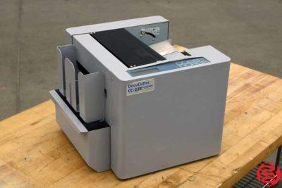 Duplo DocuCutter CC-228 Business Card Slitter - 031320010910