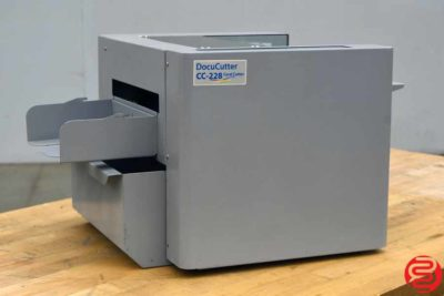 Duplo DocuCutter CC-228 Business Card Slitter - 031320105520
