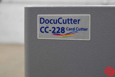 Duplo DocuCutter CC-228 Business Card Slitter - 031420101010