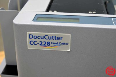 Duplo DocuCutter CC-228 Business Card Slitter - 031420105330
