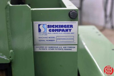 GBC Sickinger ASP 13 Universal Speed Paper Punch - 022920105755