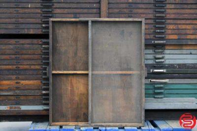 Hamilton Letterpress Type Cabinet - 46 Drawers - 022420113450