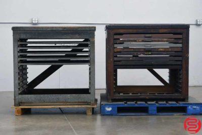 Hamilton Letterpress Type Cabinet Composing Stone - Qty 2 - 022420101210