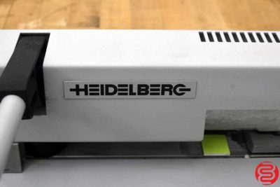 Heidelberg Plate Punch - 030720072645
