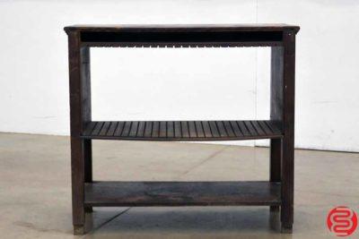 Letterpress Table - 022620011550