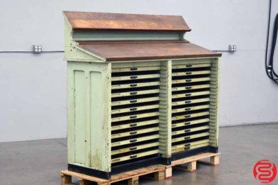 Letterpress Type Cabinet - 24 Drawers - 022420111330