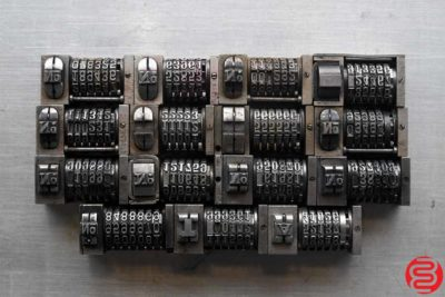 Numbering Machines - Qty 15 - 022520091330