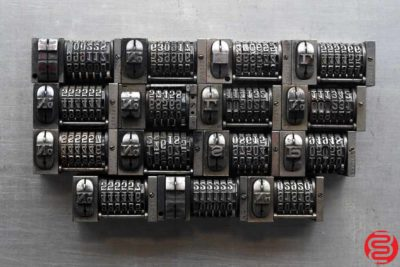 Numbering Machines - Qty 15 - 022520091405