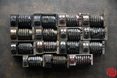 Numbering Machines - Qty 15 - 022520123355