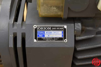 Orion AT100 Dry-Pump - 031920110340
