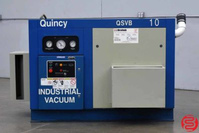 Quincy OSVB10 Rotary Screw Vacuum Pump - 031720114250