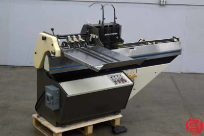 Rosback 203R Book Binding Saddle Stitcher - 031120102945
