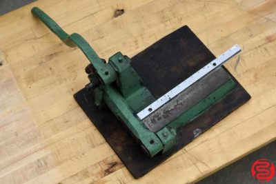 Slide Rule Cutter - 022620095650