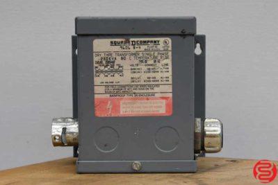 Square D Company 9606 B-4 Transformer - 032620120030