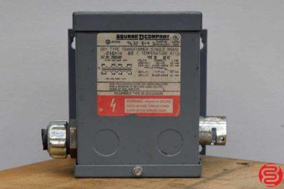 Square D Company 9632 B-4 Transformer - 032620114750