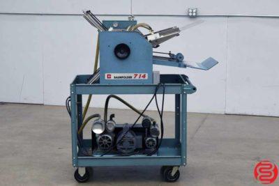 Baum 714 Vacuum Feed Paper Folder - 040620095550