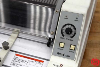 Ibico 2700 27 Hot Roll Laminator - 033020080120
