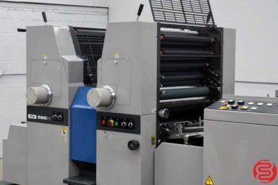 Ryobi 582H Two Color Offset Press - 042220121030